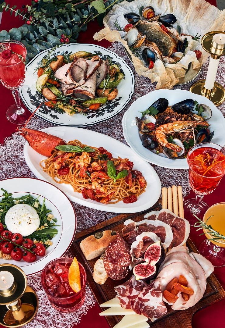 5 restaurants for a festive season infused with Italian flavours