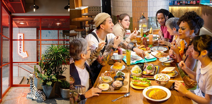 Hall of food: enjoy a gourmet pit-stop at one of those food courts