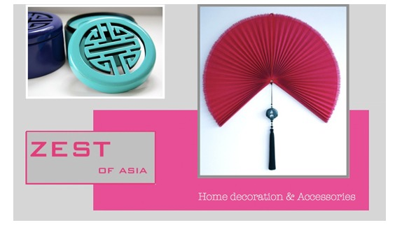 A Zest of Asia in your living room!