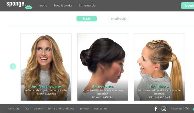 SPONGE: mobile hair and make-up service