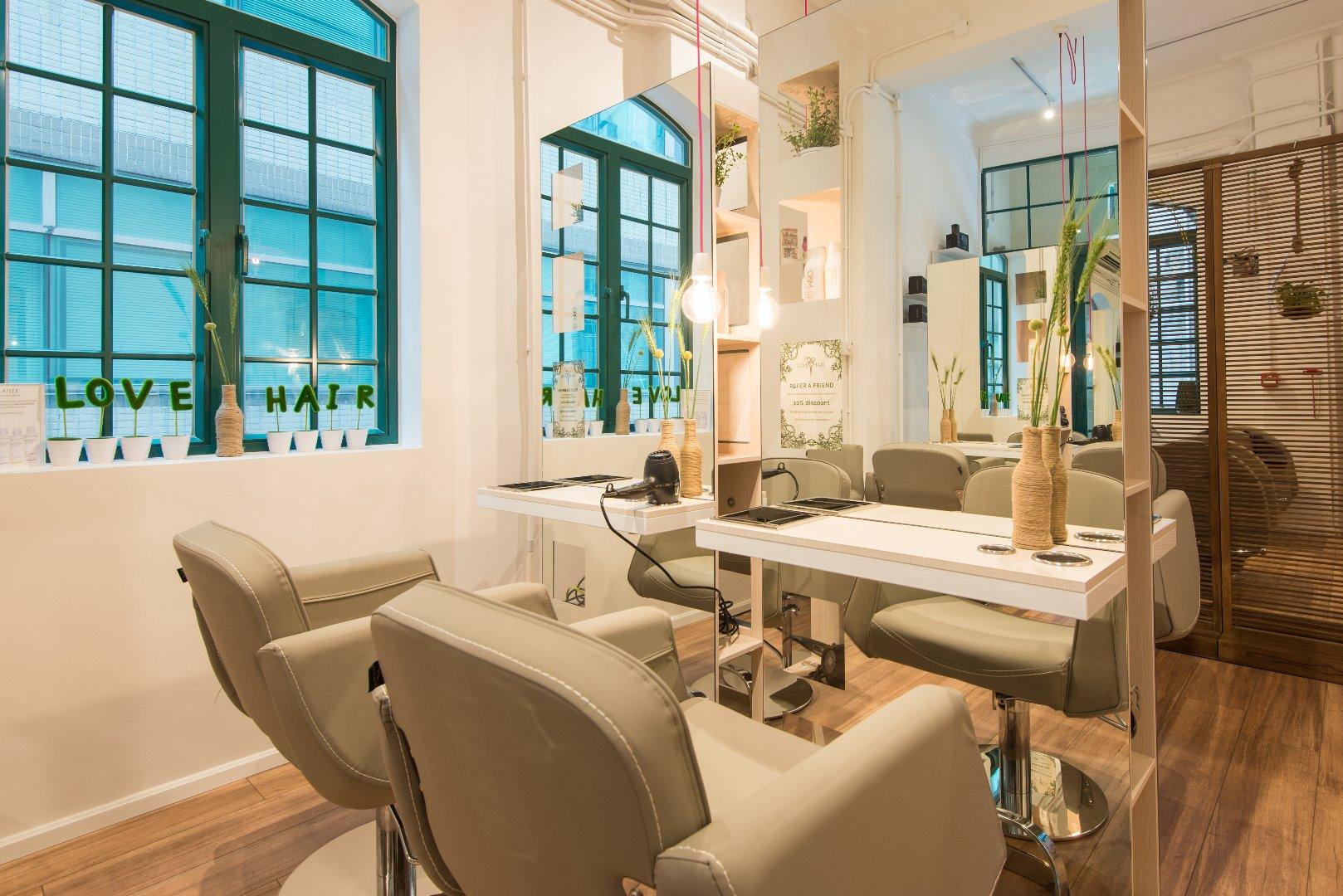 Love Hair : the most eco-friendly salon boutique
