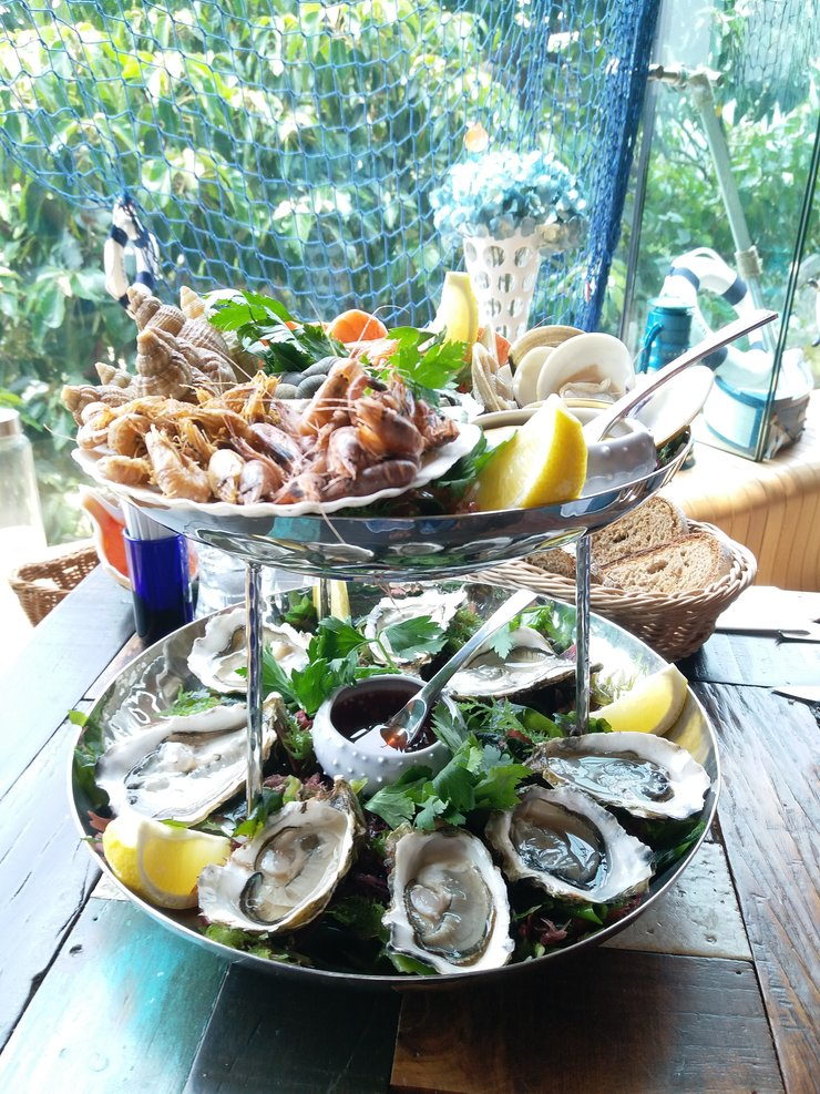 Seafood feast by the sea - The Lighthouse