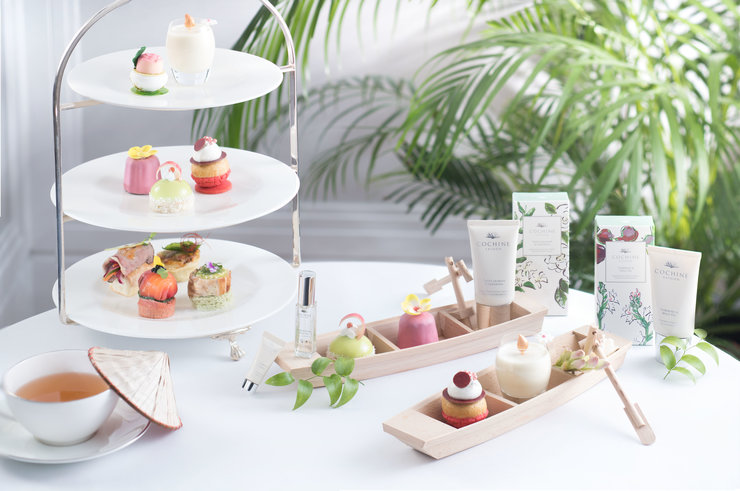 an afternoon tea in a vietnamese garden the langham x cochine saigon - Vietnamese Garden
