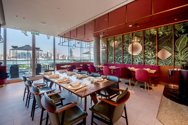 SHÈ, gourmet contemporary Chinese cuisine with a view
