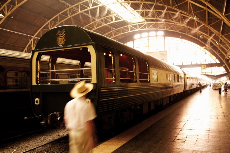 Golden Age Train Travel: A Trip on the Belmond Eastern & Oriental Express