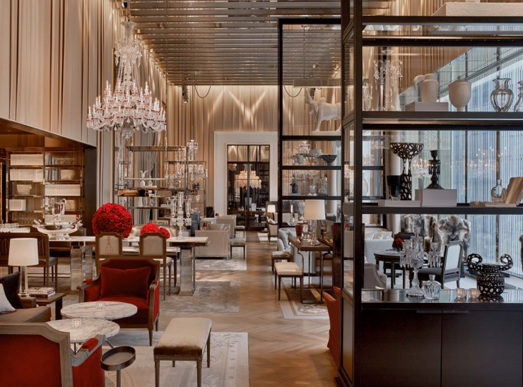 Baccarat Hotel New York: noble heritage with a modern flair on the Fifth Avenue