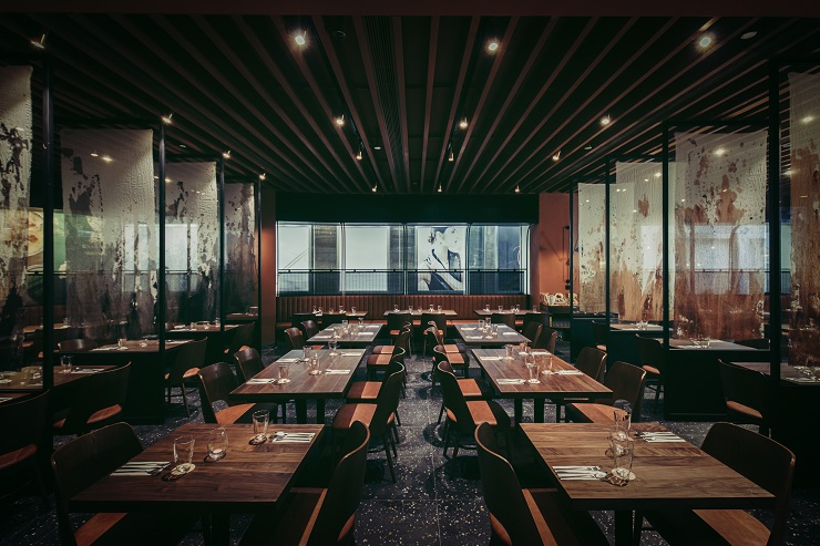 Amelia, contemporary dining on the harbourfront