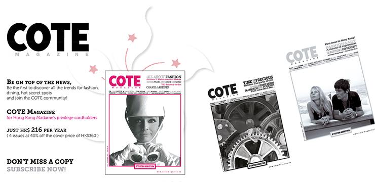 Cote magazine hong kong