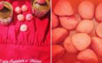 Strawberry Candy Muffins