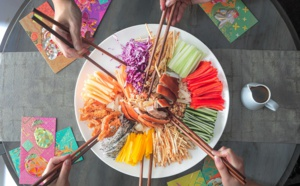 Geared to expat palate: lucky food to welcome the New Lunar Year