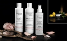 Hair pampering with Christophe Robin products