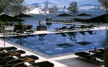 Lunch at the Four Seasons Hotel Pool Terrace