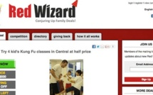 """Red Wizard : a """"Groupon"""" for kids!"""