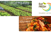 Eat Fresh : Help yourself to organic veggies!