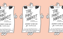 Print Market : An art exhibition on the fringe of the French May – not to be missed