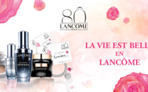 Partner News - 1935-2015: for 80 years, La Vie est Belle with Lancôme!