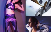 Miss Runner, the arty active wear