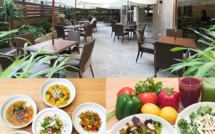 KINNET CAFE: The hidden terrace full of vitamins!