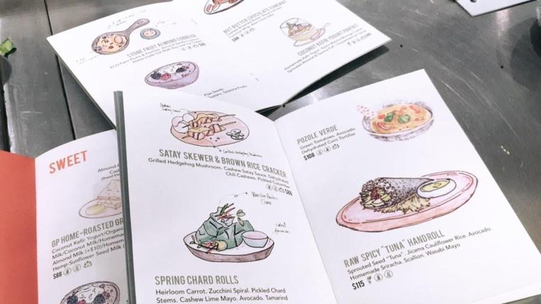Le menu d'été de Grassroots Pantry