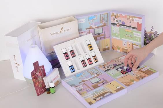 Découvrir les Huiles Essentielles avec YOUNG LIVING AROMA ROUTINE BOX