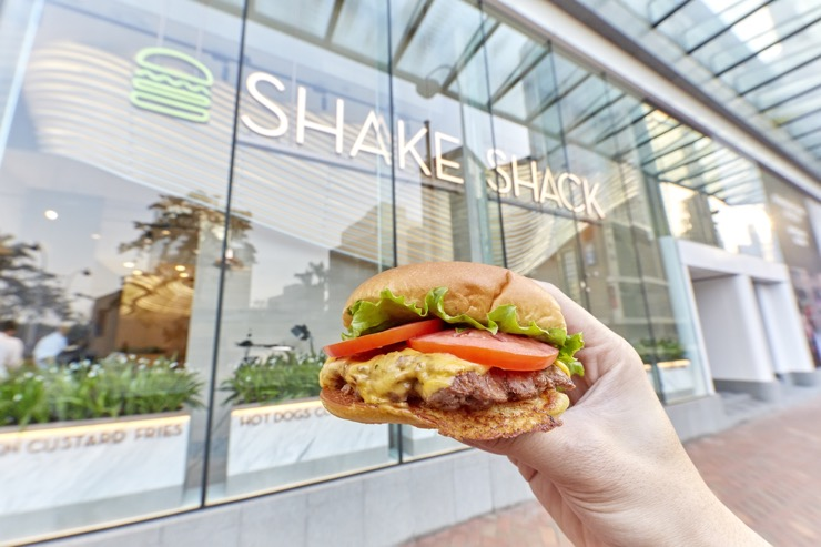 Shake Shack s'attaque à Hong Kong