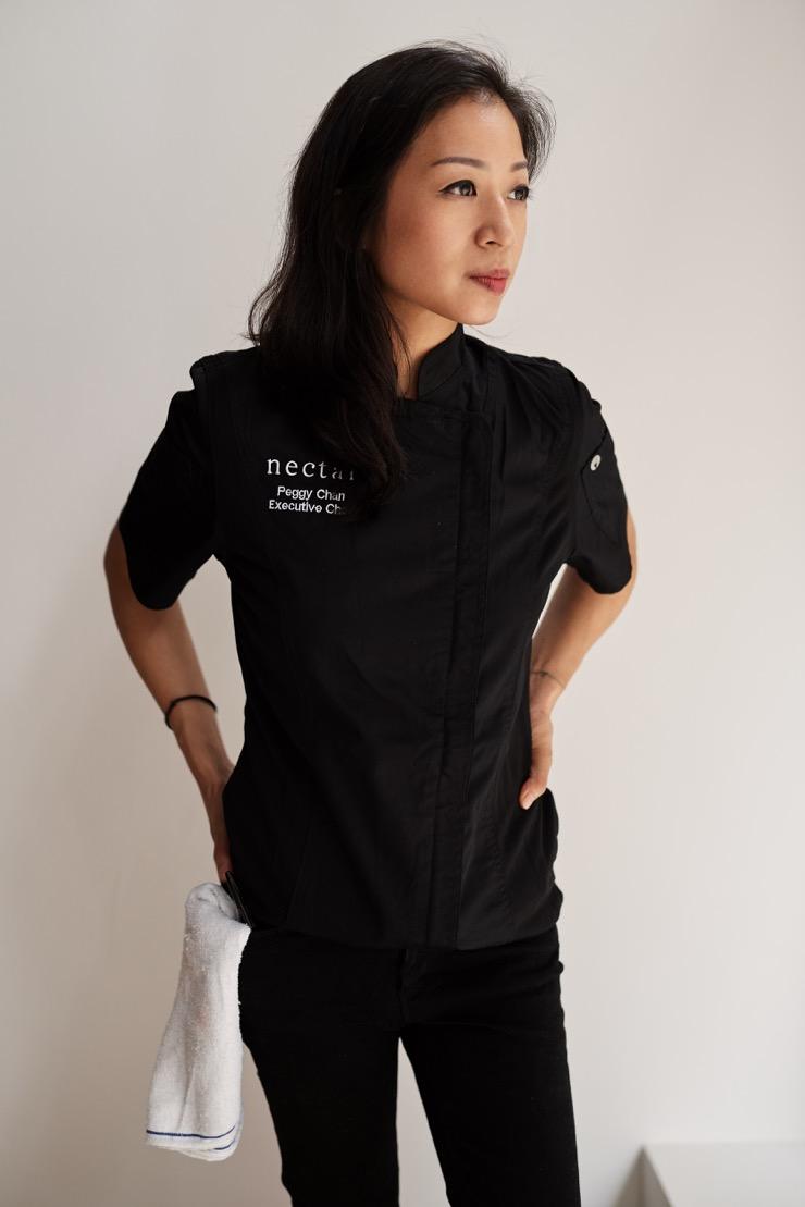 Chefs à Hong Kong – Peggy Chan chez Nectar