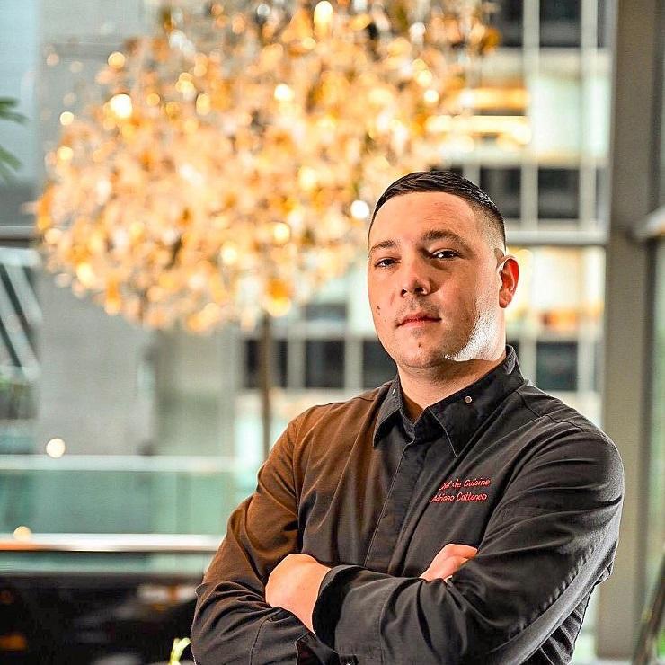 Chefs étoilés d'Hong Kong – Adriano Cattaneo, Chef Exécutif à L'Atelier de Joël Robuchon