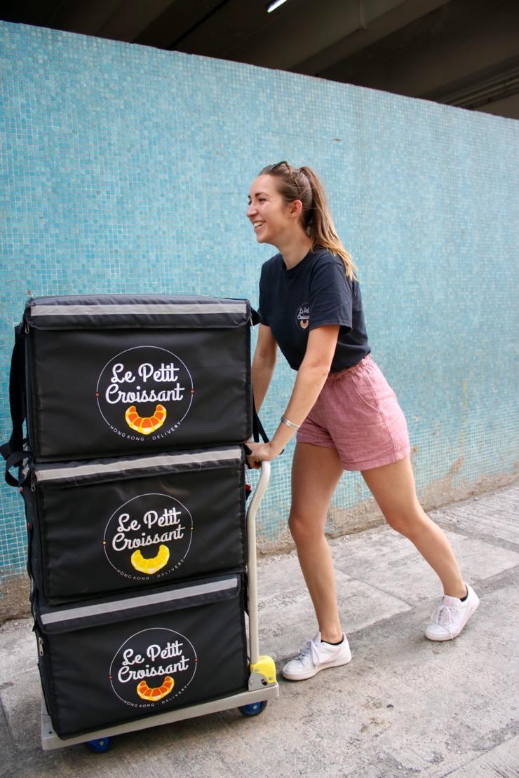 Entrepreneurs à Hong Kong – Laura, fondatrice de Le Petit Croissant