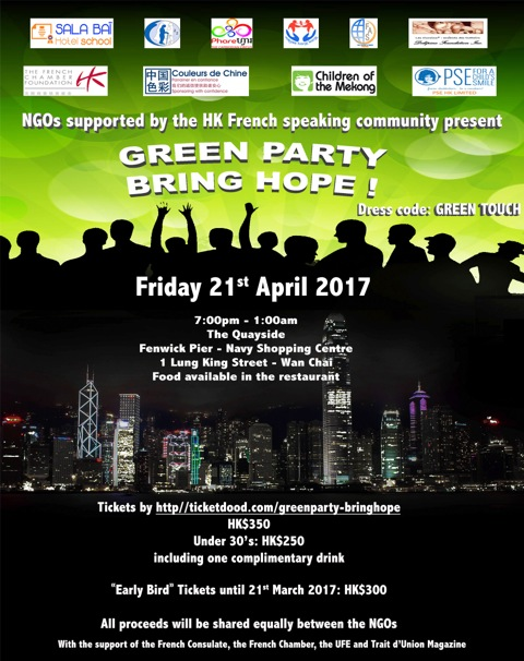 Green Party - Soirée de l'espoir