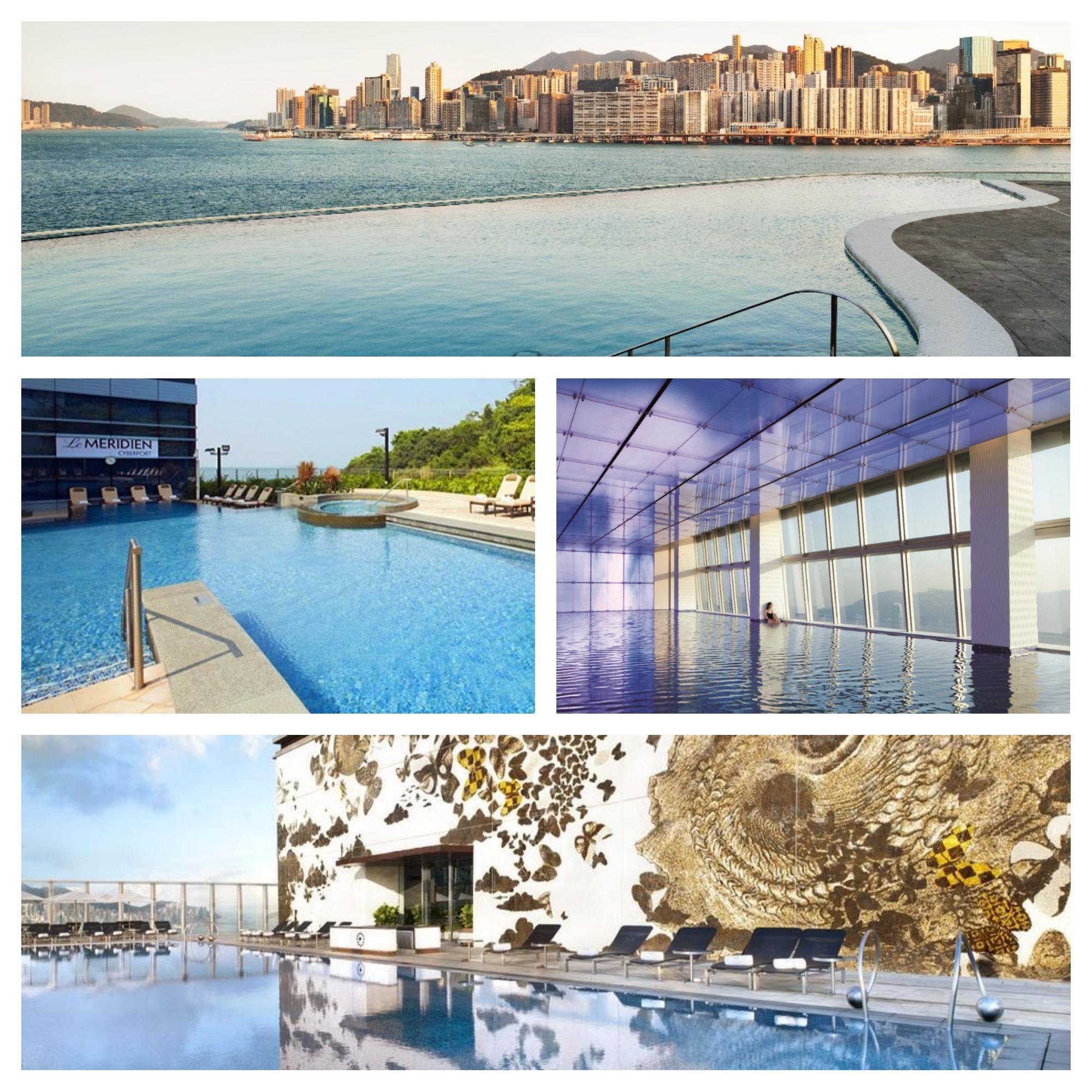 Plouf! Les meilleures piscines d'hôtel de Hong Kong
