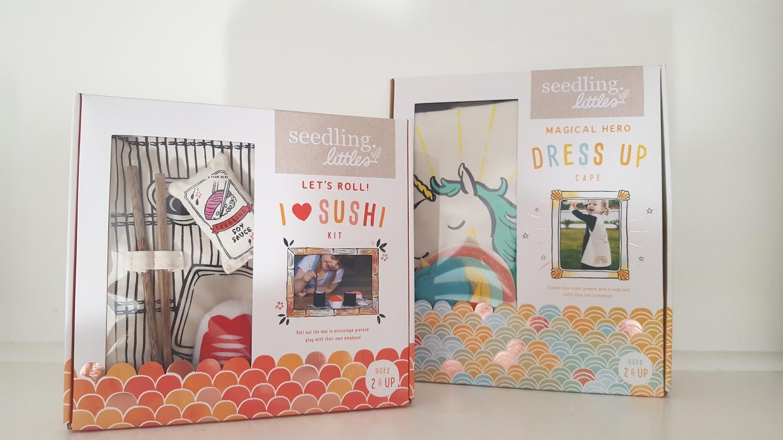 SEEDLING LITTLES : des kits de jeux inventifs pour les 2-4 ans.