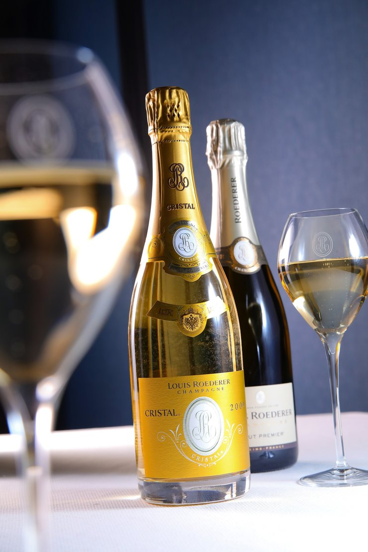 Weekend, champagne et haute cuisine