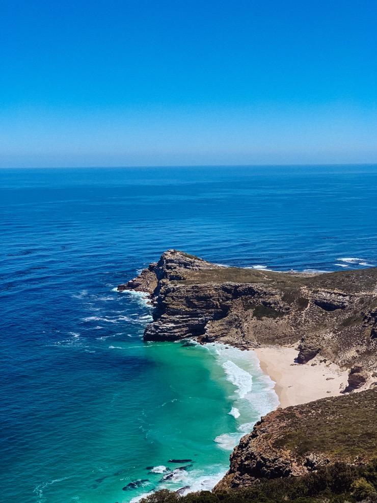 La vue depuis Cape Point