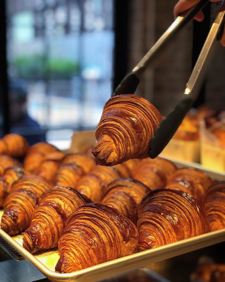 Les croissants de Bakehouse