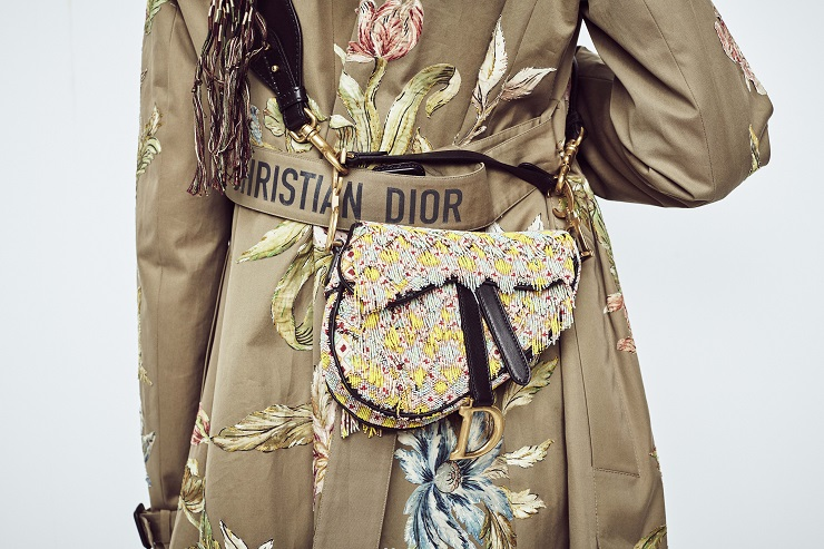 Le Saddle Bag de Dior – né en 2000, it-bag 2018