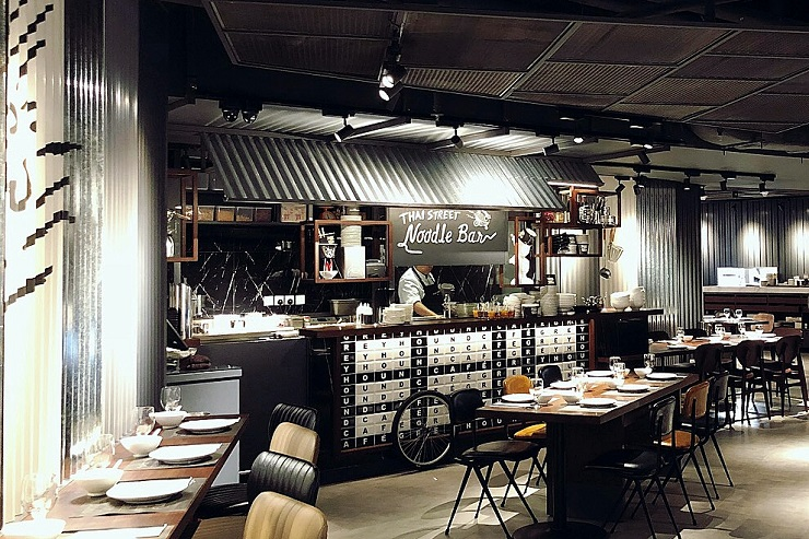 Greyhound Café, un resto Thai moderne et branché