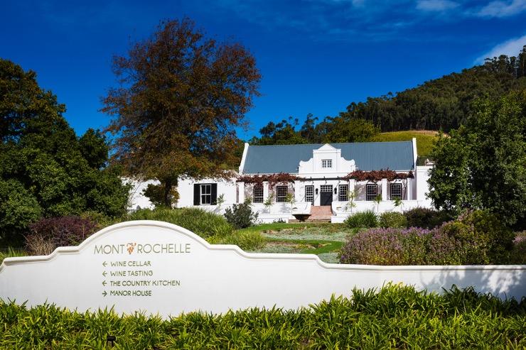 Mont Rochelle, une pépite dans les vignobles Sud-Africains