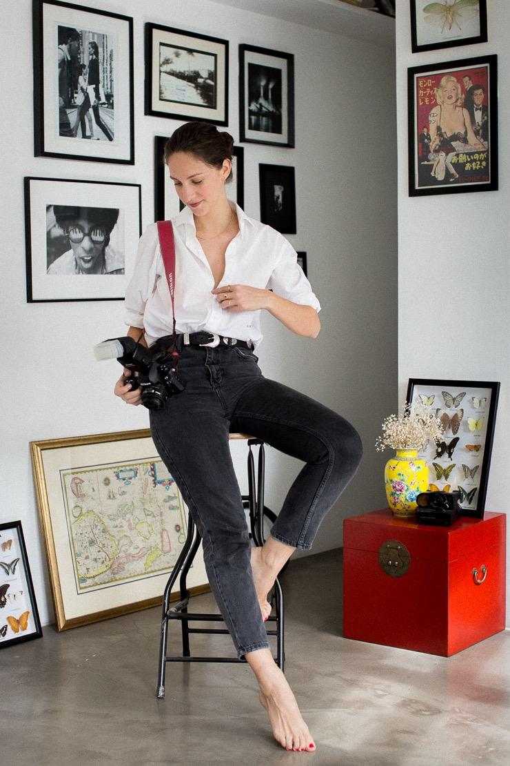 Portraits de femmes – Douce, Photographe