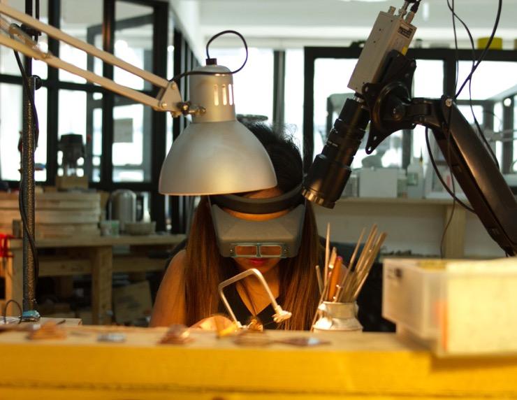 Hatton Jewellery Institute, l'art thérapeutique de créer des bijoux