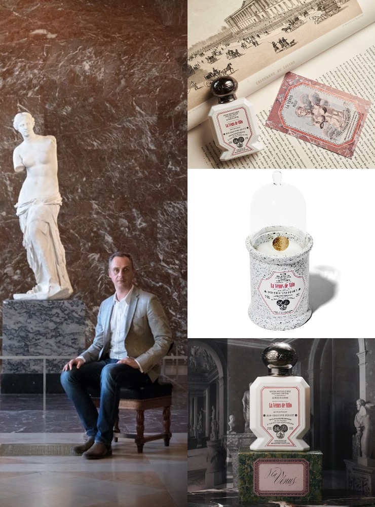 Du Musée au Parfum – Buly 1803 lance une collection en partenariat avec le musée du Louvre