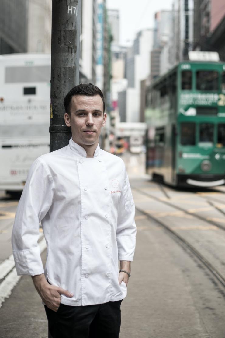 Chefs étoilés d'Hong Kong – Eric Raty, Chef de Cuisine chez Arbor