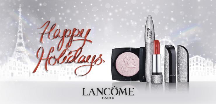 News partenaire : Soyez rayonnante pour les fêtes grâce à Lancôme !