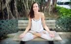L'invitée du mois de Septembre: Sandrine, professeur de yoga et fondatrice de Blue Doors Studio à Wan Chai