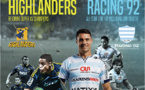 Le Racing 92 contre les Highlanders !