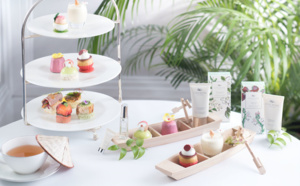 Un Afternoon Tea dans un jardin vietnamien : The Langham x Cochine Saigon