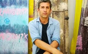 André, artiste / graffeur/ entrepreneur, pour la première fois à Hong Kong