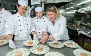 Conversation gourmande avec la chef étoilée Stéphanie Le Quellec