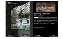 Photosynth: vues à 360 degrés