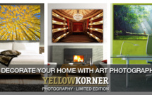 Yellow Korner, une photographie d'art chez-soi !