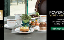 "News partenaire - HELENA RUBINSTEIN x Angelina présentent le ""Youth Grafter Afternoon Tea"""